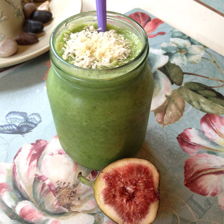 Morning Green Smoothie Healthy Eating AJmakeup3