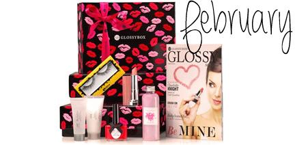Glossybox February 2014 Valentines Day