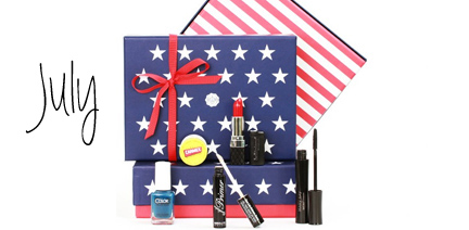 Glossybox July 2014 Stars and Stripes