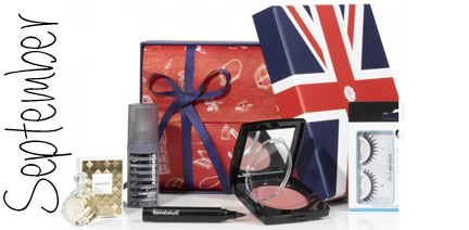 Glossybox September 2013 London Edition