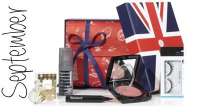 Glossybox September 2013 London Edition