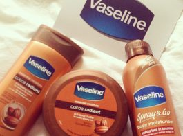 vaseline cocoa radiant review