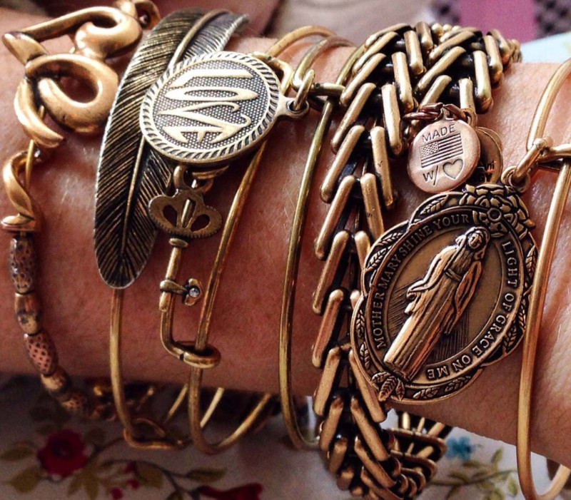 alex and ani stacked bangles