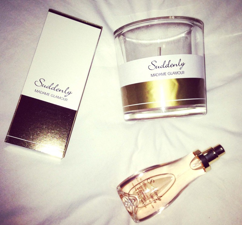 Suddenly madame glamour lidl perfume candle chanel 2