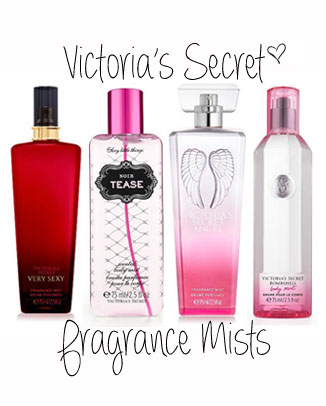 victoria's secret fragrance mist travel size