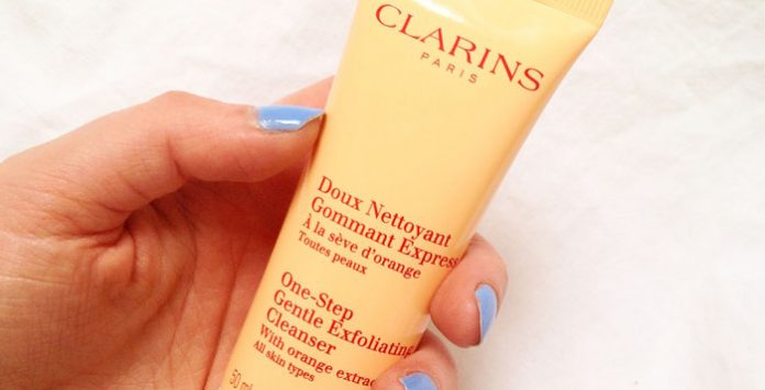 Clarins one Stop Exfoliating Cleanser review