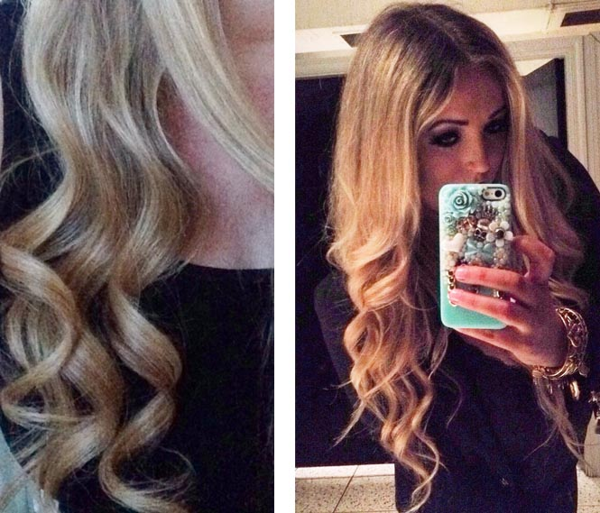 instyler rotating iron curls how to style