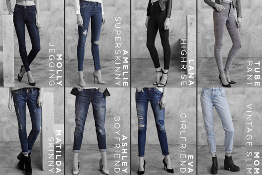 river island the denim collection