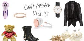 fashion and beauty blogger christmas wishilist