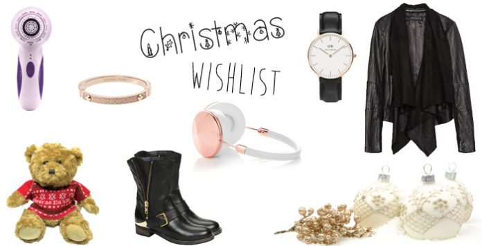 fashion and beauty blogger christmas wishilist