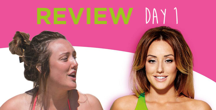 Charlotte S 3 Minute Belly Blitz Review Day 1