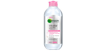Favourite products of 2014 garnier micellar water
