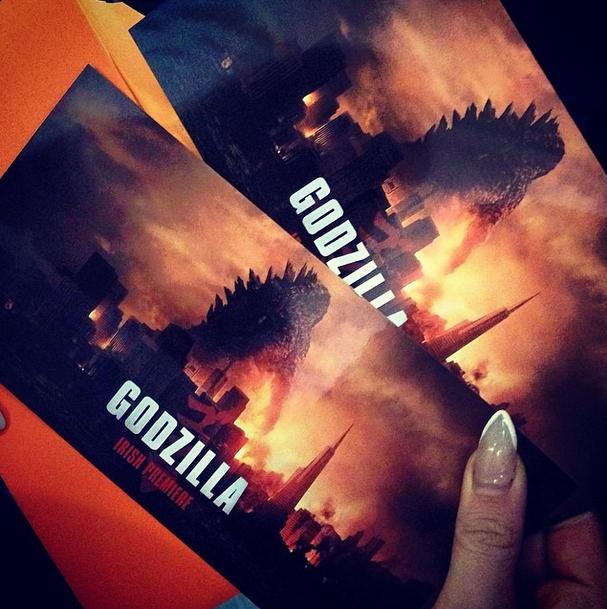 godzilla irish premiere 2014