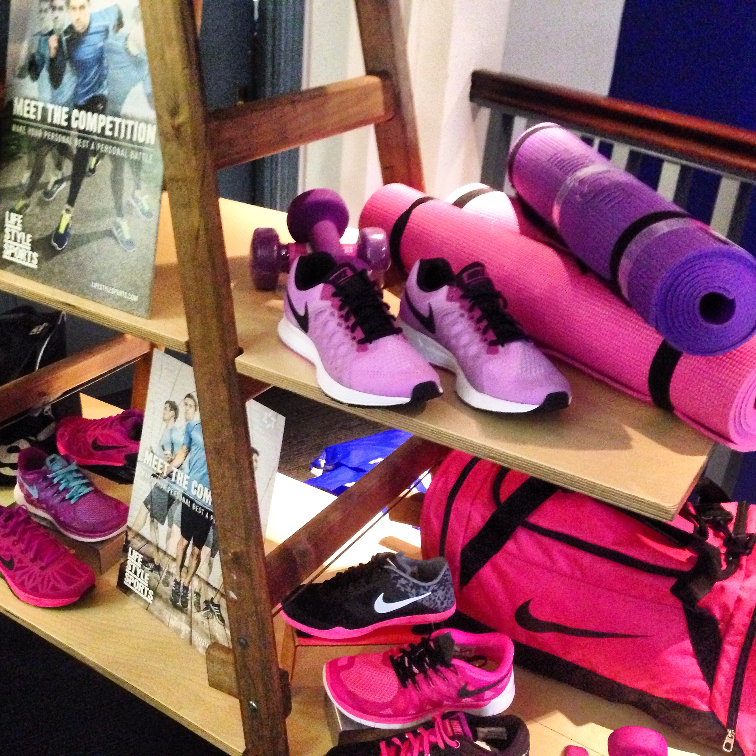 Lifestyle Sports fitness collection press day neon