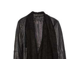 Zara Leather Jacket with Pointed Hem.jpg