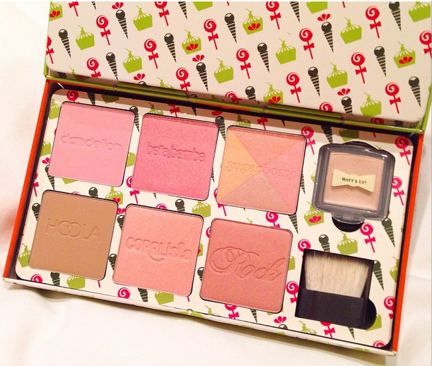 cheeky sweet spot box o' blushes