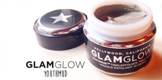 glamglow youthmud review tinglexfoliate mud mask