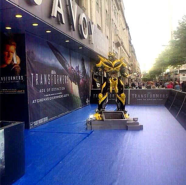 transformers irish premiere