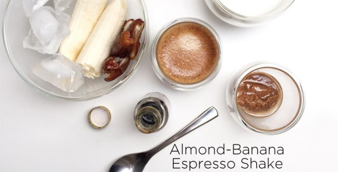 Almond Banana Espresso Shake