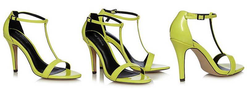 call it spring yellow t bra stilettos