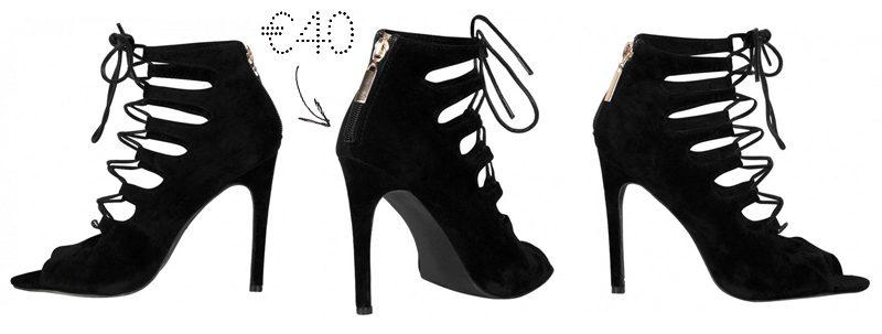 public desire lace up suede laila heels