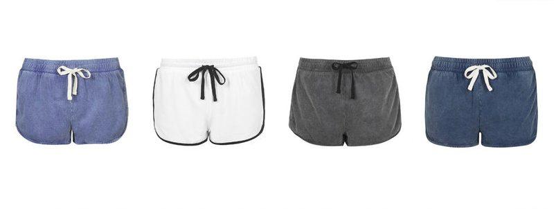 topshop runner shorts