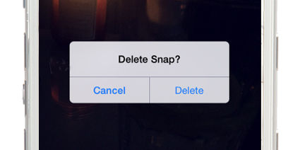 Snapchat friend is typing - how do you delete a snapchat off of your ...