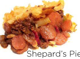 clean eating shepards pie