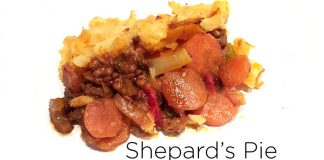 clean eating shepards pie