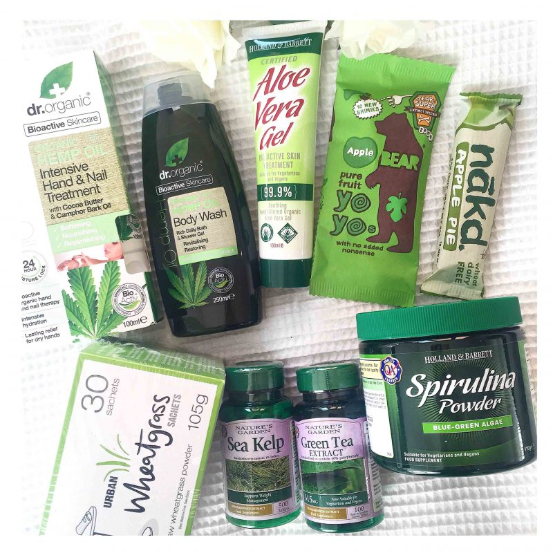 holland and barrett green giveaway