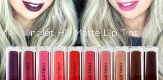 inglot hd matte lip tint review