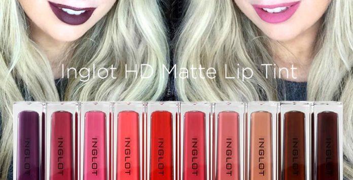 inglot hd matte lip tint review