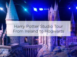 harry potter studio tour london from ireland