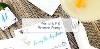 PS Primark Bronze Tan Range