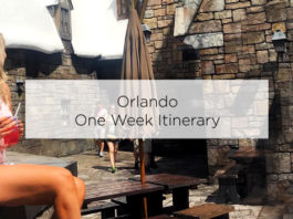 orlando one week itinerary