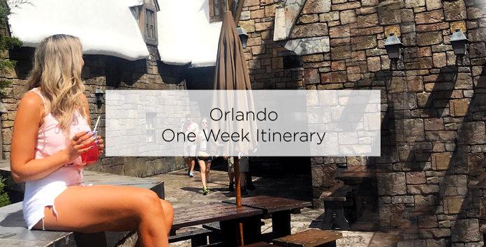 orlando one week itinerary