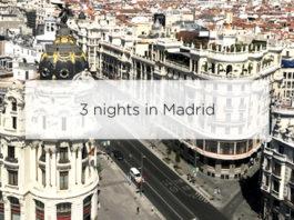 three nights in madrid
