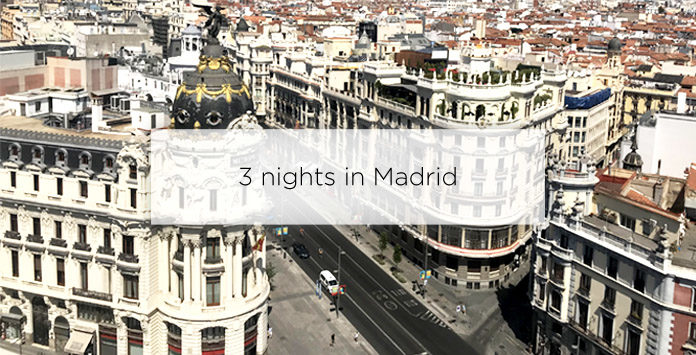 three nights in madrid